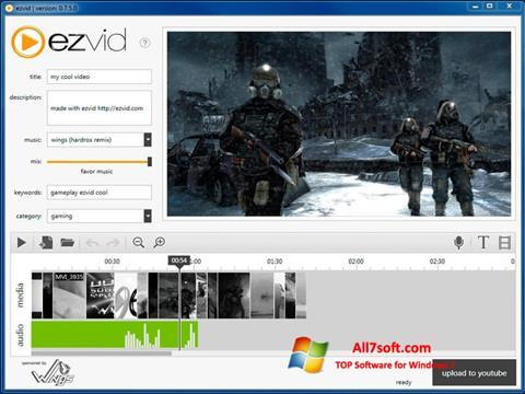 Screenshot Ezvid per Windows 7