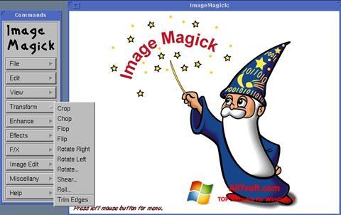 Screenshot ImageMagick per Windows 7