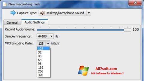 Screenshot SMRecorder per Windows 7