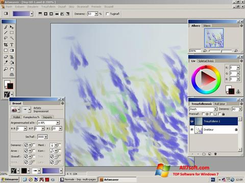 Screenshot Artweaver per Windows 7