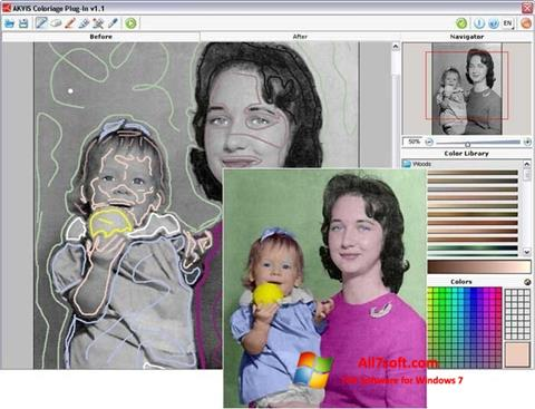 Screenshot AKVIS Coloriage per Windows 7