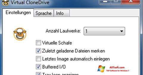 Screenshot Virtual CloneDrive per Windows 7