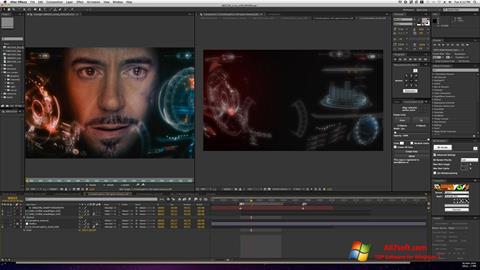 Screenshot Adobe After Effects per Windows 7