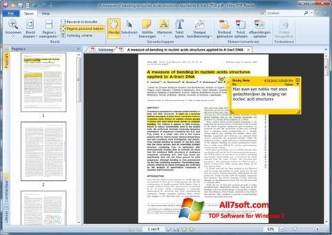 Screenshot Nitro PDF Reader per Windows 7