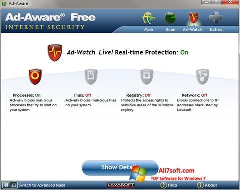 Screenshot Ad-Aware per Windows 7