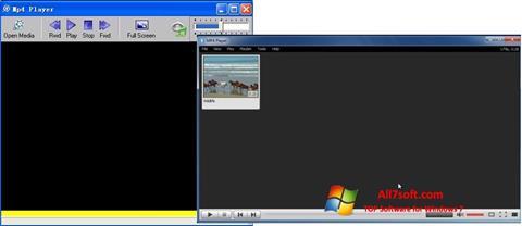 Screenshot MP4 Player per Windows 7