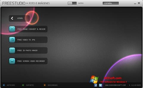 Screenshot Free Studio per Windows 7
