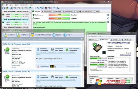 Screenshot HDD Health per Windows 7