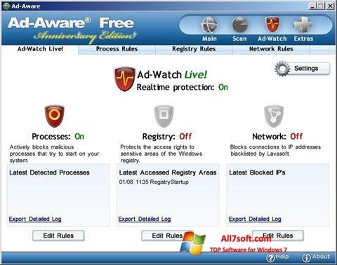 Screenshot Ad-Aware Free per Windows 7