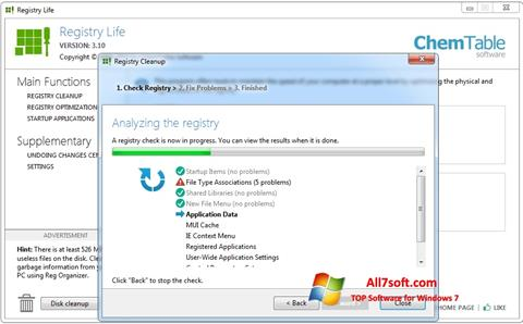 Screenshot Registry Life per Windows 7