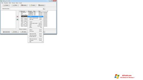Screenshot ArtMoney Pro per Windows 7