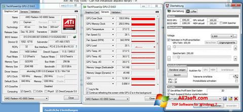 Screenshot ATI Tray Tools per Windows 7