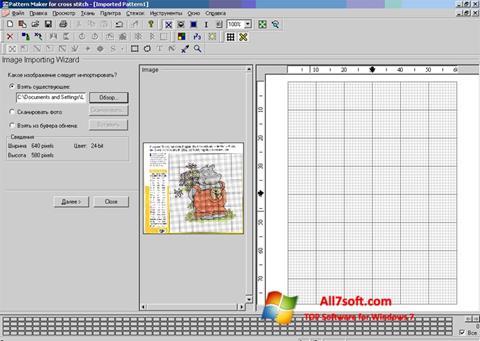 Screenshot Pattern Maker per Windows 7