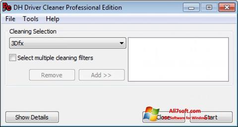 Screenshot Driver Cleaner per Windows 7