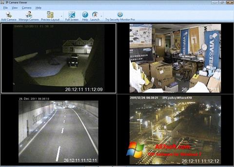 Screenshot IP Camera Viewer per Windows 7