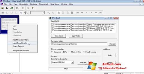 Screenshot DjVu Solo per Windows 7