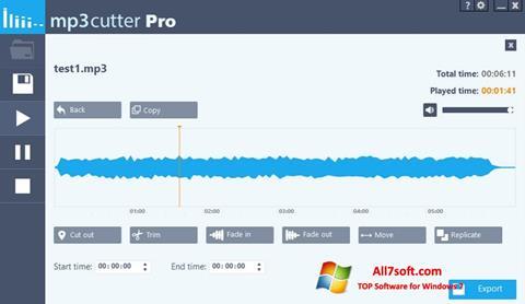 Screenshot MP3 Cutter per Windows 7
