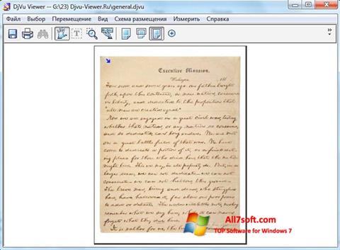 Screenshot DjVu Viewer per Windows 7