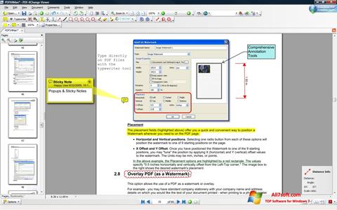 Screenshot PDF-XChange Viewer per Windows 7
