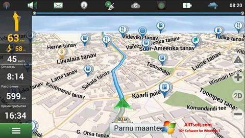 Screenshot Navitel Navigator Update Center per Windows 7