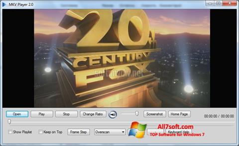 Screenshot MKV Player per Windows 7