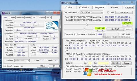 Screenshot SetFSB per Windows 7