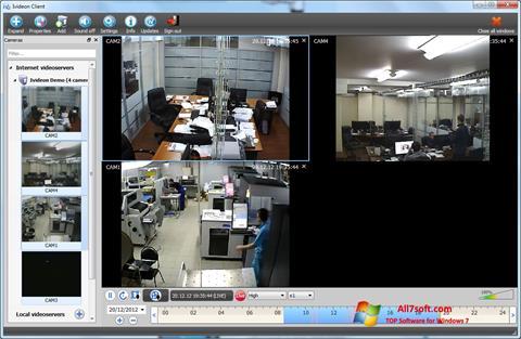 Screenshot Ivideon Server per Windows 7