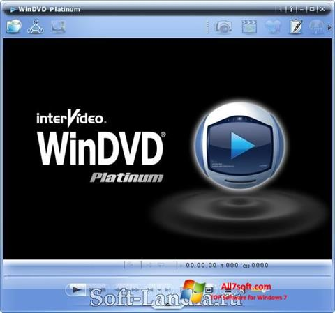 Screenshot WinDVD per Windows 7