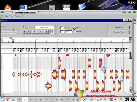 Screenshot Melodyne per Windows 7