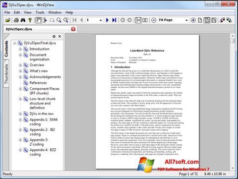 Screenshot WinDjView per Windows 7