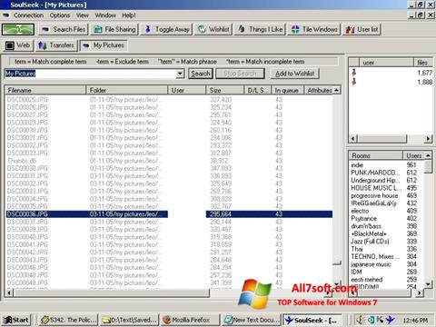 Screenshot Soulseek per Windows 7