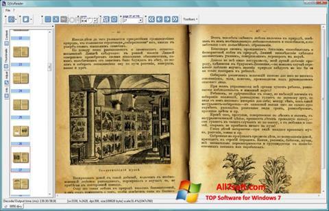 Screenshot DjVu Reader per Windows 7