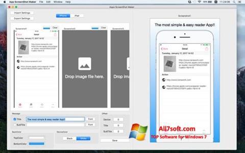 Screenshot ScreenshotMaker per Windows 7