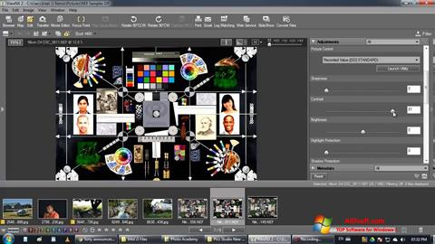 Screenshot ViewNX per Windows 7