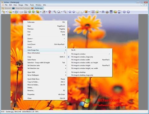 Screenshot XnView per Windows 7