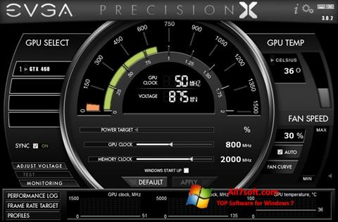 Screenshot EVGA Precision X per Windows 7