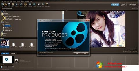 Screenshot ProShow Producer per Windows 7