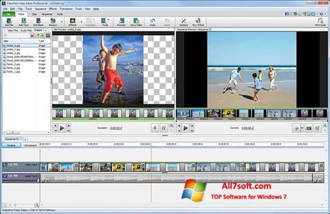 Screenshot VideoPad Video Editor per Windows 7