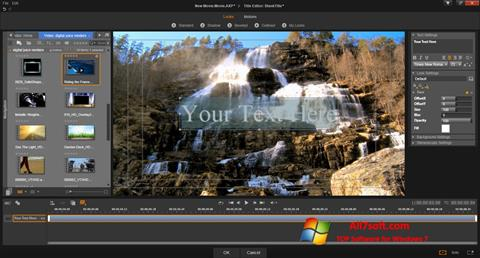 Screenshot Pinnacle Studio per Windows 7