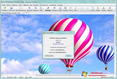 Screenshot FastStone Capture per Windows 7