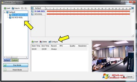 Screenshot D-ViewCam per Windows 7