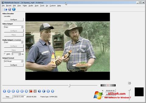 Screenshot Avidemux per Windows 7