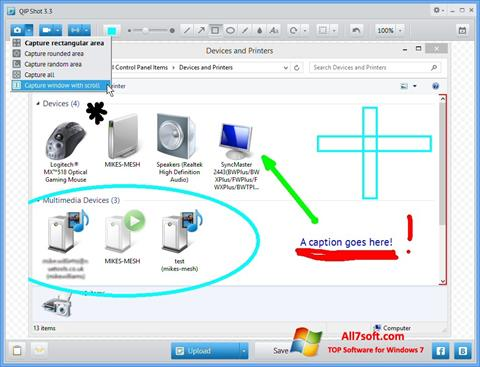 Screenshot QIP per Windows 7