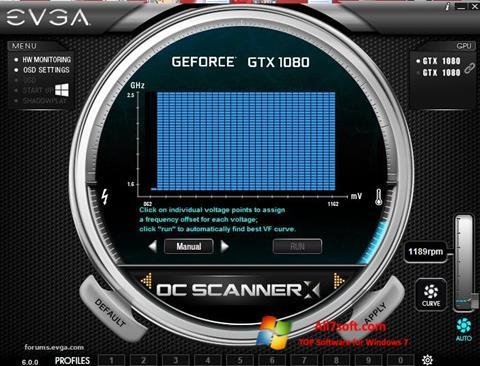 Screenshot EVGA Precision per Windows 7