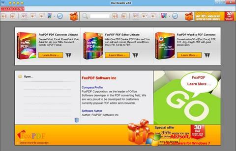 Screenshot Doc Reader per Windows 7