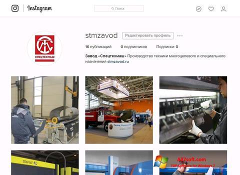 Screenshot Instagram per Windows 7