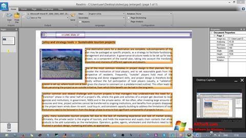 Screenshot Readiris Pro per Windows 7