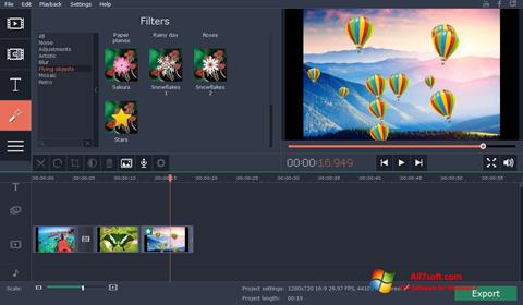 Screenshot Movavi Video Suite per Windows 7