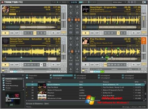 Screenshot Traktor PRO per Windows 7