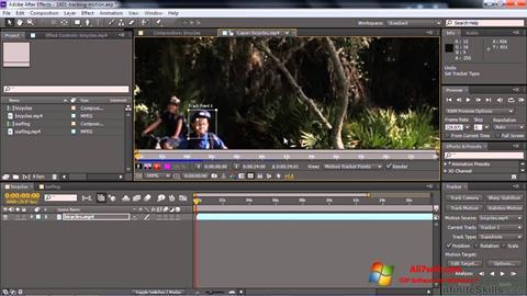 Screenshot Adobe After Effects CC per Windows 7